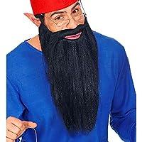 Widmann 01525 长胡须与胡子 适合多种人物 男式 黑色 均码