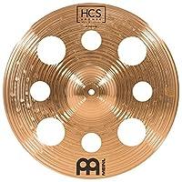 Meinl Cymbals 40.64 厘米垃圾桶带孔 – HCS 传统抛光青铜鼓套装,德国制造,2 年保修(HCSB16TRC)