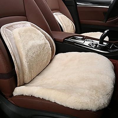 定制 羊毛汽车坐垫冬季三件套雷克萨斯is200t is250 gs250 rx200t座垫