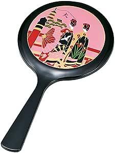 中谷兄弟商会山中漆器雅手鏡 黒