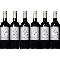 【亚马逊直采】Saltram 1859设拉子(西拉)红葡萄酒750ml*6(亚马逊直采红酒,澳大利亚品牌)自营精选