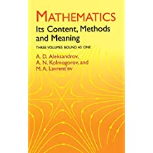 Mathematics: Its Content, Methods and Meaning (Dover Books on Mathematics) (English Edition)