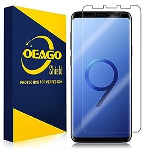 [3 件装] OEAGO 三星 Galaxy S8 屏幕保护膜[不带钢化玻璃]透明屏保膜适用于三星 Galaxy S8 - 终身更换保修4336691977 透明