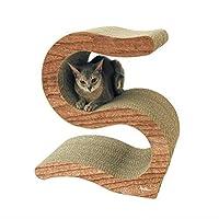 Petz Route 猫咪 S字 磨爪玩具 攀爬架 木制