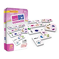 Junior Learning Fraction Dominoes 教育动作游戏