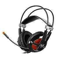 SOMIC 硕美科 G938 头戴式电脑耳麦 7.1声效专业游戏耳机 带线控 佩戴舒服 黑色