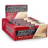 BSN 由Syntha-6组成的蛋白质酥脆棒,低糖乳清蛋白棒,20克蛋白质,香草棉花糖,12支(包装可能不同)