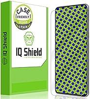IQ Shield 屏幕保护膜兼容三星 Galaxy S20 Ultra(6.9 英寸)(3 件装)(适合手机)防气泡透明膜