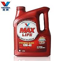 Valvoline 胜牌 星冠MAX LIFE 合成机油 10W-40 SN 4L