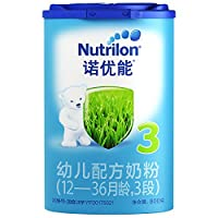 Nutrilon 诺优能 3段幼儿配方奶粉(12-36个月) 800g(荷兰原装进口-新老包装随机发货)