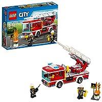 LEGO 乐高  拼插类 玩具  LEGO City  城市系列 云梯消防车 60107 5-12岁