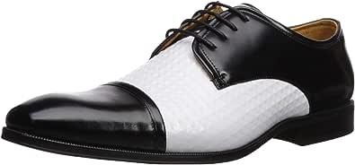Stacy Adams 男士 Sussex 莫卡辛一脚蹬乐福鞋 Black/Cognac 15 M US
