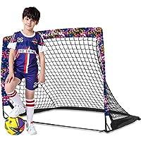 Dimples Excel 足球门弹出式足球门后院儿童迷你足球门便携式可折叠足球门网花园室内室外1个装