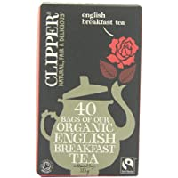 Clipper Teas 公平貿易特色英式早餐茶 40茶包(6盒包裝)