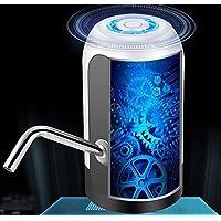 水瓶泵 5加仑(约1.79升)饮水器 – USB 充电通用适合饮用水便携式自动电动泵适用于家庭厨房办公室露营开关,适用于2-5加仑(约5.79升)水罐