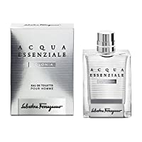 Salvatore Ferragamo Acqua Essenziale Colonia Eau de Toilette Spray for Men, 3.4 Fluid Ounce