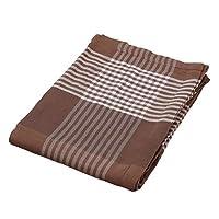 西川 家居用品 纱布毯 140×190厘米 2032-72208 棕色 140×190㎝ 2032-72208