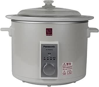 Panasonic 松下 NF-PM501A 电炖锅 白色(陶瓷内胆、耐热玻璃盖、5.0L大容量)