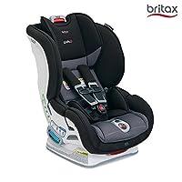 美版 Britax MARATHON ClickTight Convertible儿童安全座椅, VERVE 气魄灰, 适用:0-8岁,2.3-29.5kg(跨境自营)