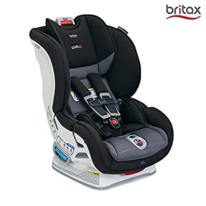美版 Britax MARATHON ClickTight Convertible儿童安全座椅, VERVE 气魄灰(美国进口,香港直邮)适用体重5-65磅,约0-8岁,五点式安全带,安装方式为Click Tight安装系统(Britax全球仅美版高端款才有的最新安装技术,仅需安全带安装,安装正确度、简易性大大提升)7档角度调节,12档高度调节,特有SafeCell冲击保护系统,美亚畅销同款,该款设计,测试,制造均在美国