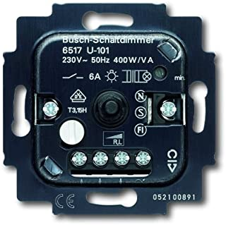 Busch-Jaeger 6517U-101 通用开关调光插座