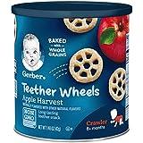 Gerber Graduates 手指食品收获苹果车轮,1.48 盎司罐(6 支装)