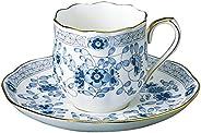 NARUMI 鸣海 Milano系列 咖啡杯 & 碟子 130cc(约130ml)特浓咖啡杯 9682-6777