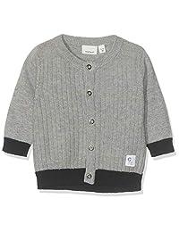 NAME IT 婴儿男孩 Nbmfasom Ls 针织卡针织夹克