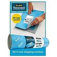 Scotch Flex & Seal 运输卷,纸板盒、气泡袋、塑料袋、缓冲 10 ft.