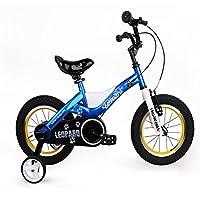ROYALBABY 优贝 14寸儿童自行车蓝色猎豹(亚马逊自营商品, 由供应商配送)