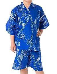 Kewetsu 甚平 红梅编织 单品 男童
