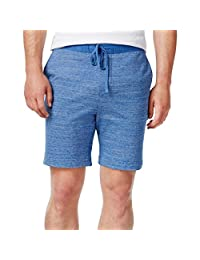Tommy Hilfiger 男式 Alex 针织混色休闲短裤 蓝色 XL 码