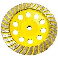 Stadea CWD104H 15.24 cm 钻石杯轮 - 涡轮 - 系列标准 C - 1.59 cm 11 T - 黄色