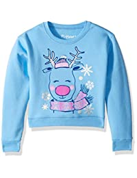Hanes 大女孩圣诞丑运动衫