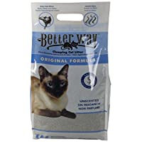 Better Way Original Unscented Clumping Bentonite Cat Litter with Sanel Cat Attractant
