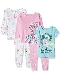 Carter's 女宝宝棉贴身睡衣 5 件套