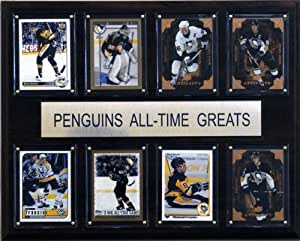 NHL Pittsburgh Penguins All-Time Greats Plaque