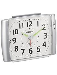 卡西欧 闹钟 模拟 银 TQ-382-8JF