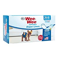 Wee-Wee 一次性尿布垫,24 片装