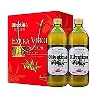 AGRIC 阿格利司 欧丽薇娜特级初榨橄榄油 礼盒装 1L*2(西班牙进口)