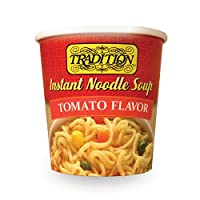 Tradition Instant Noodle Soup Cup, Tomato, 2.29 Ounce (Pack of 12)