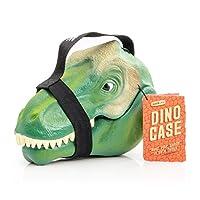 Suck UK 恐龙手提箱/绿色儿童存储解决方案 - 包括*面料提手