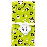 宫本 纱布面巾 KaSaNeTe 熊猫 34×90cm 05010