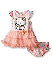 Hello Kitty Baby Dress Set, Multi, 18 Months