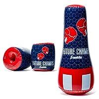 Franklin 运动充气拳击包和手套套装 - 未来倒角 - 106.68 x 48.26 x 48.26 厘米