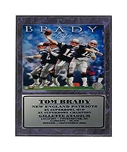 Encore Select 521-33 NFL 新英格兰爱国者汤姆·布莱迪斯图案斑点,30.48 厘米 x 38.10 厘米
