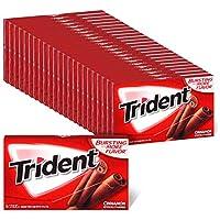 Trident 肉桂无糖口香糖 - 24件装 (共336块)