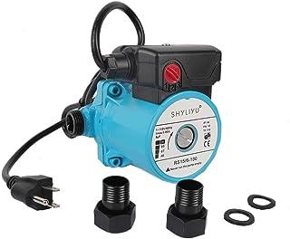 SHYLIYU 115V/60HZ 3/4 英寸(约 1.9 厘米)出口压力增压泵 3 速铸铁家用循环泵 热水循环泵