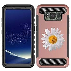 Galaxy S8 Active 自动 黑色 Rose Gold - Daisy Flower