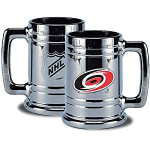 NHL Carolina Hurricanes Chrome Stein